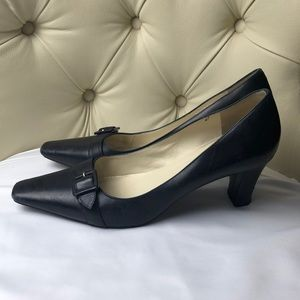 Bruno Magli Black Pump Heels